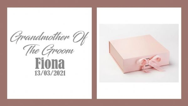 Grandmother Of The Groom Large Luxury Personalised Gift Box
